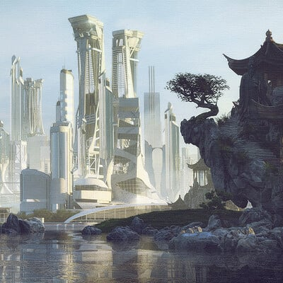 Stefan morrell cityscape