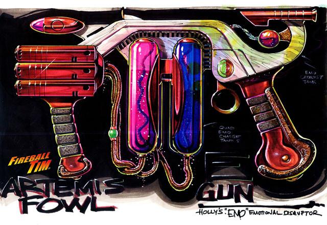ARTEMIS FOWL EMO GUNS