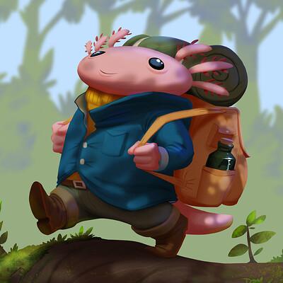 Zacharie denuel axolotl final