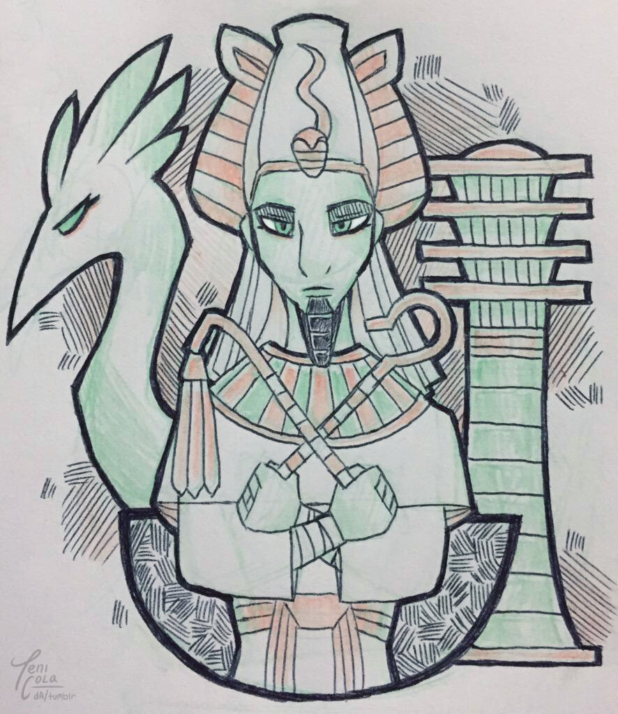OSIRIS -- The God of the Dead, the afterlife, and resurrection.
