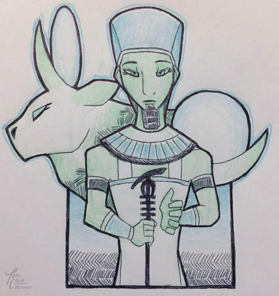 PTAH -- A creation deity and the God of art, craftsmen, masonry, and architecture.