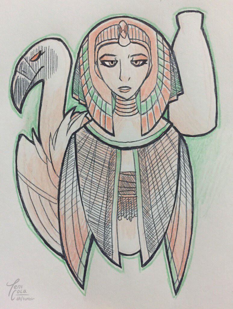 NEKHBET -- The patron Goddess of Upper Egypt.