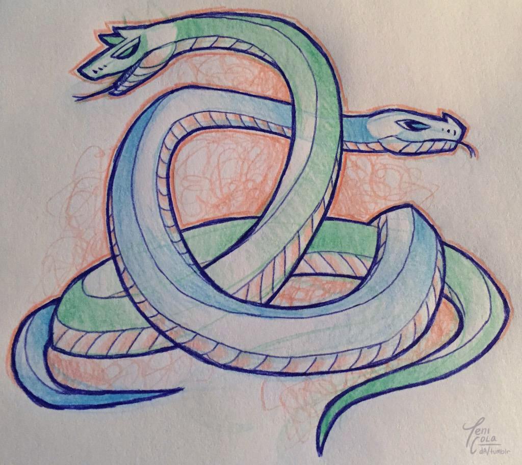 NAK & SEBAU -- The twin snake-fiend demons and agents of Apep.