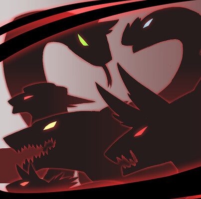Teniola coker demons notes silhouette banner