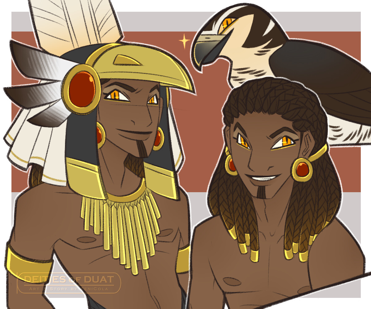 MONTU -- The God of Warfare and victory, and a solar deity. His sacred animal is the Hawk.