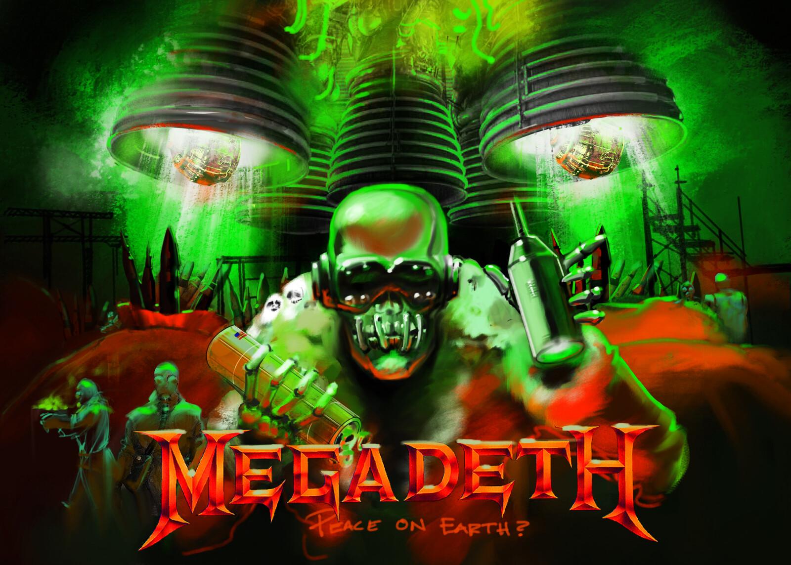Peace on Earth?  Megadeth Holiday Card