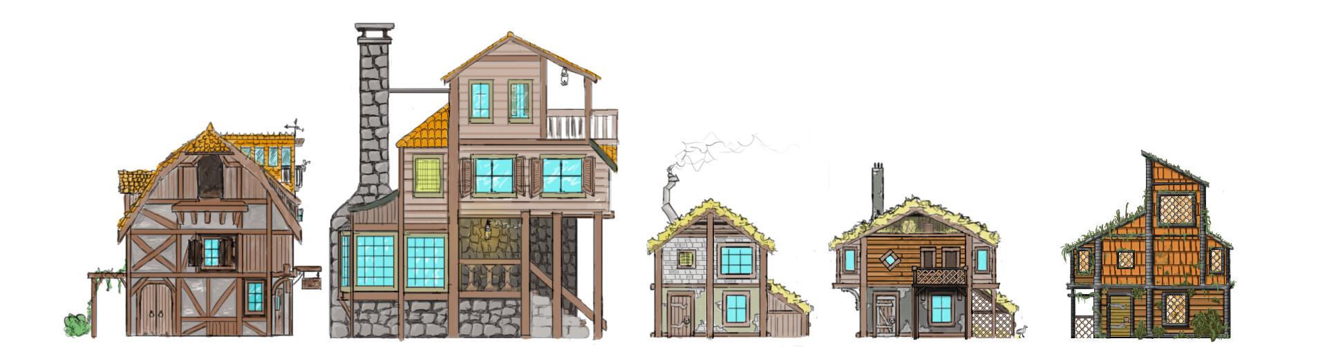 Alexander laheij house designs