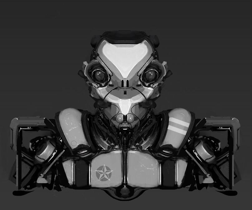 Mech Head Design