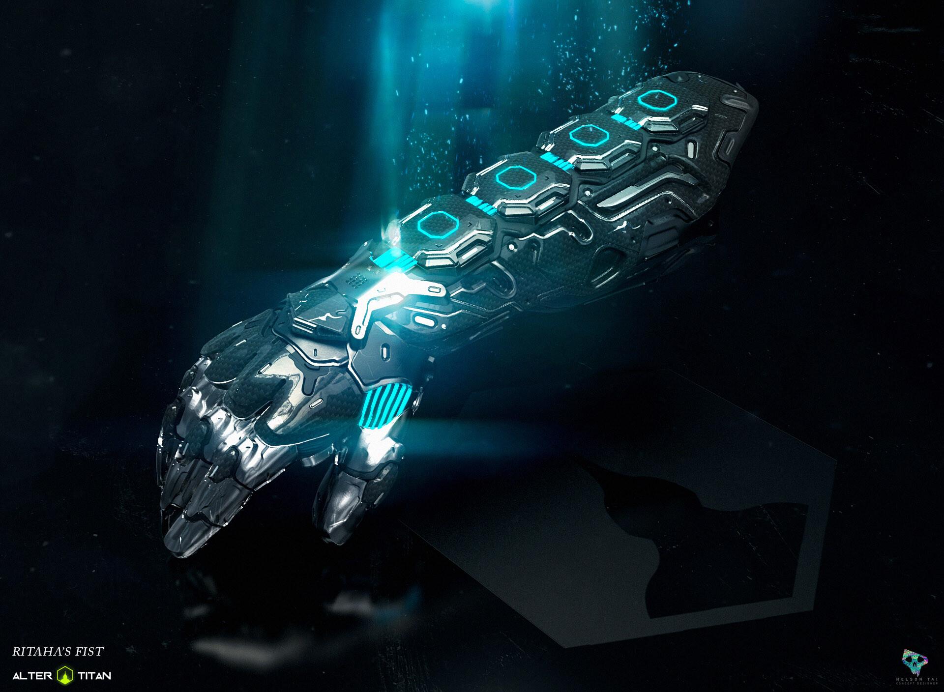 The legendary gauntlet - Ritaha's Fist
