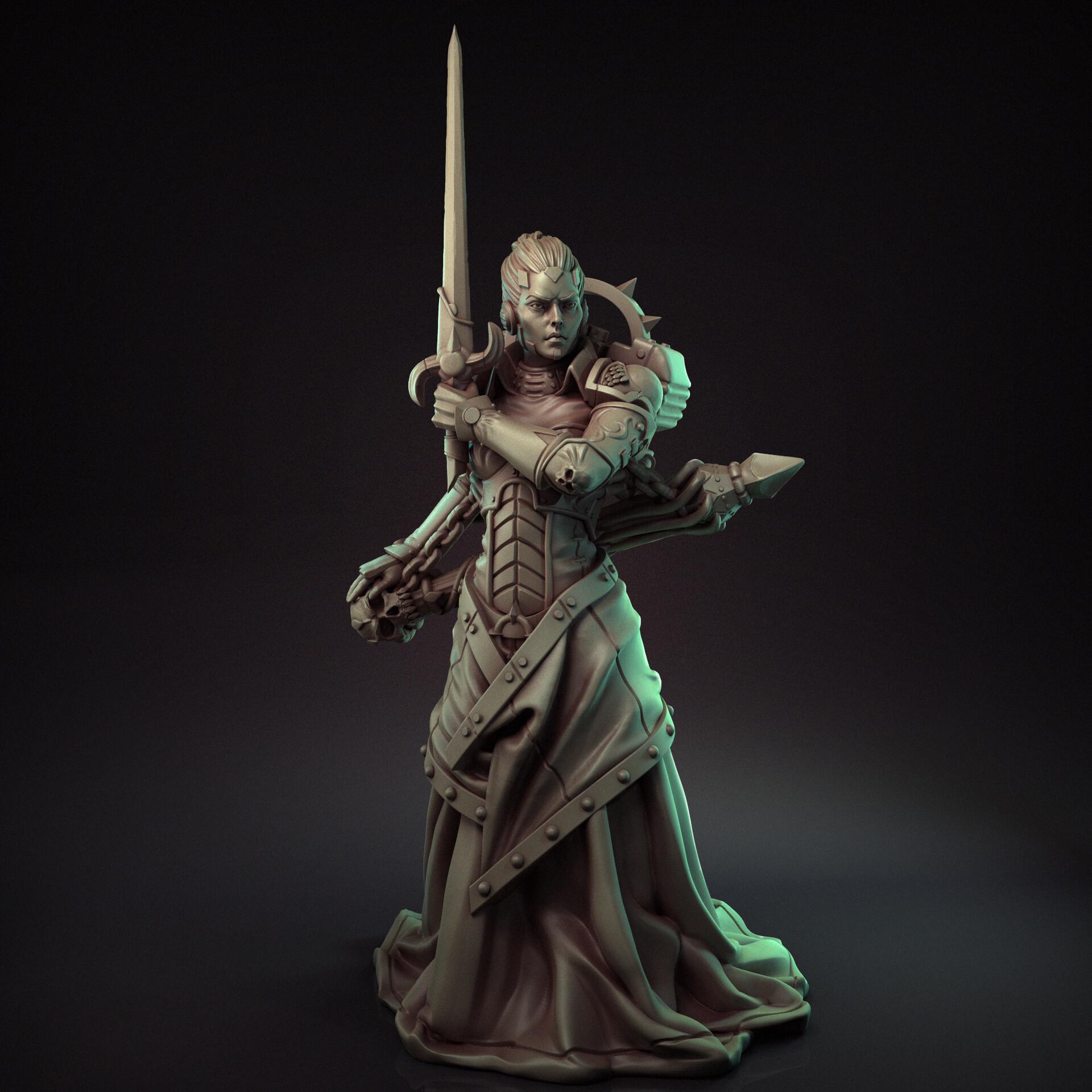 Artem bespalov female inquisitor