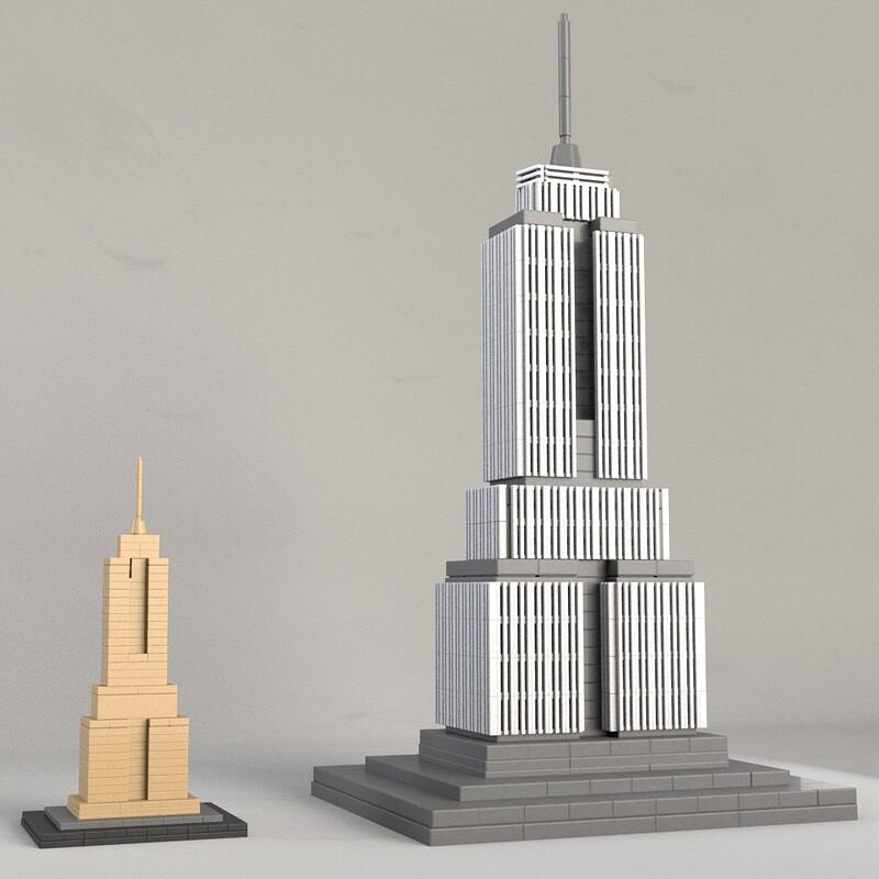 Empire State Building (BrickIt Demo)