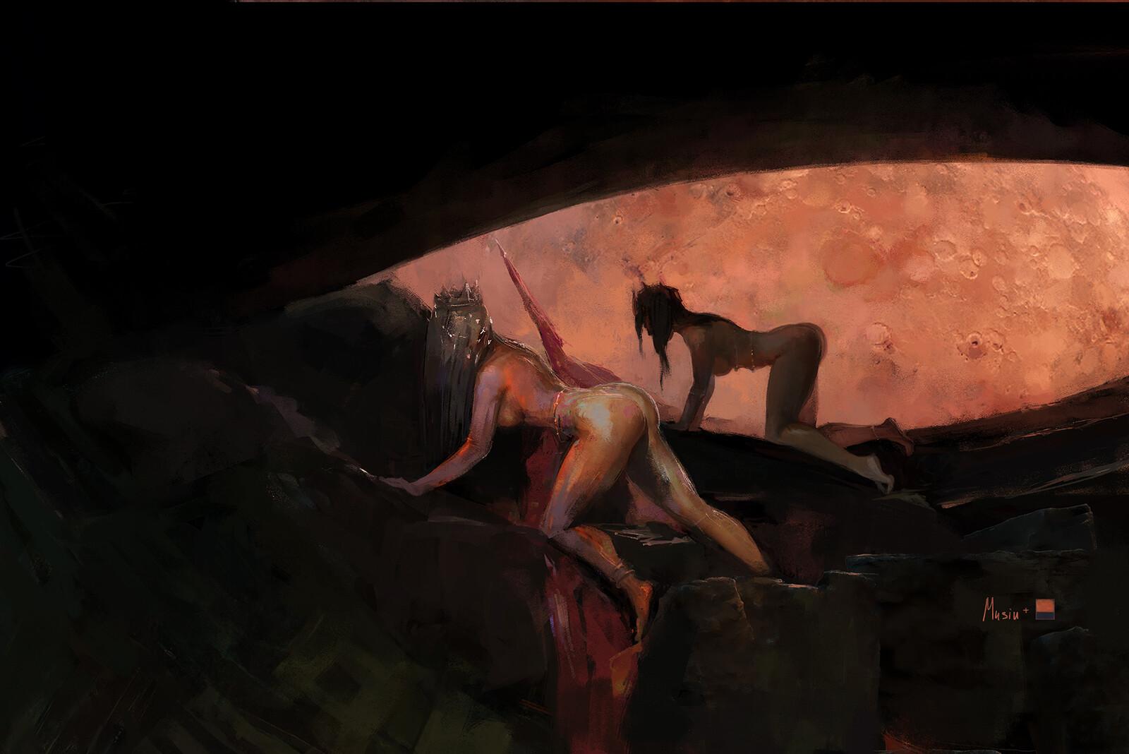Mars 1 Rothko