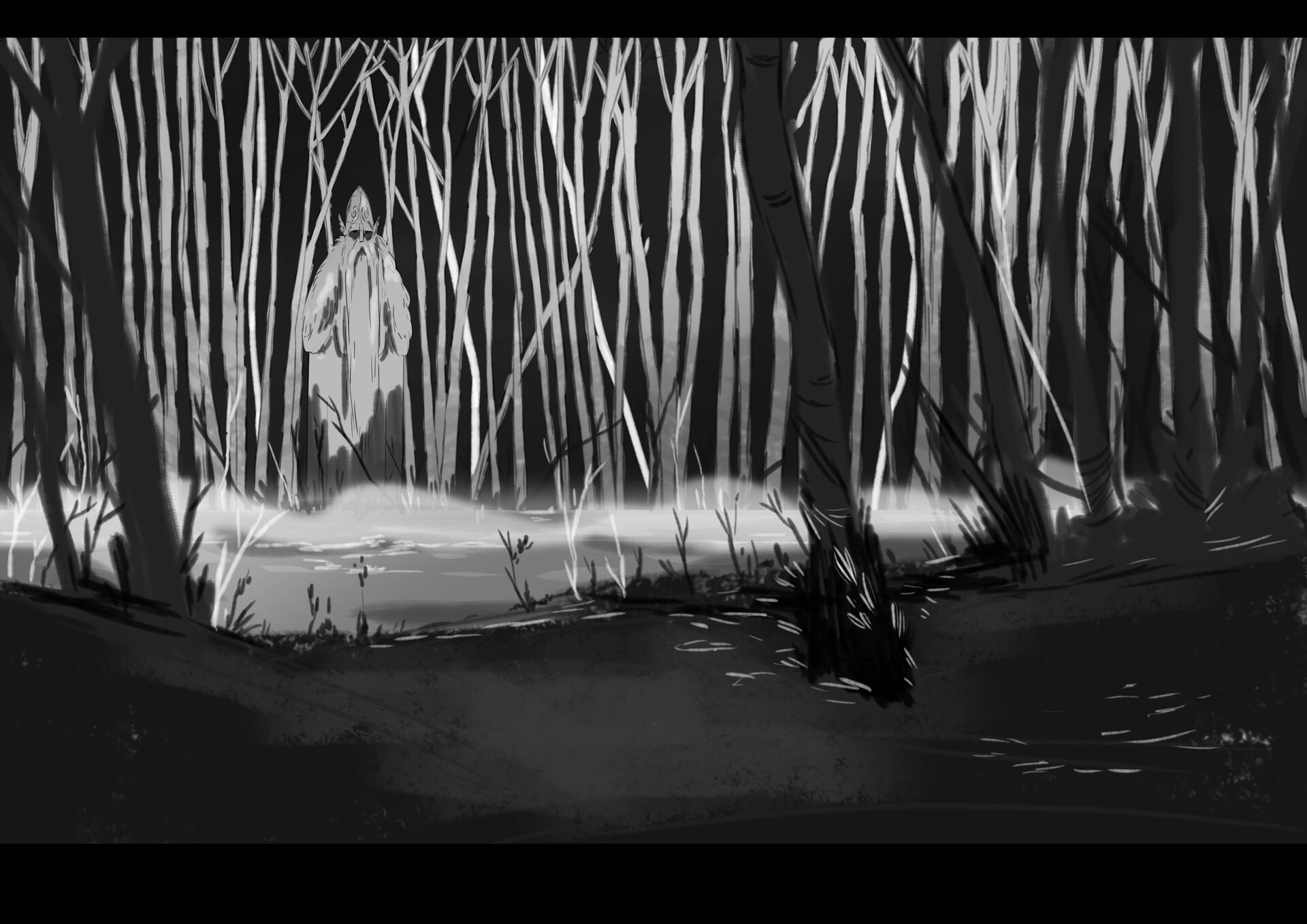 Pablo broseta escena bosque odin