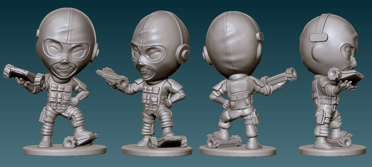 Twitch Final Sculpt