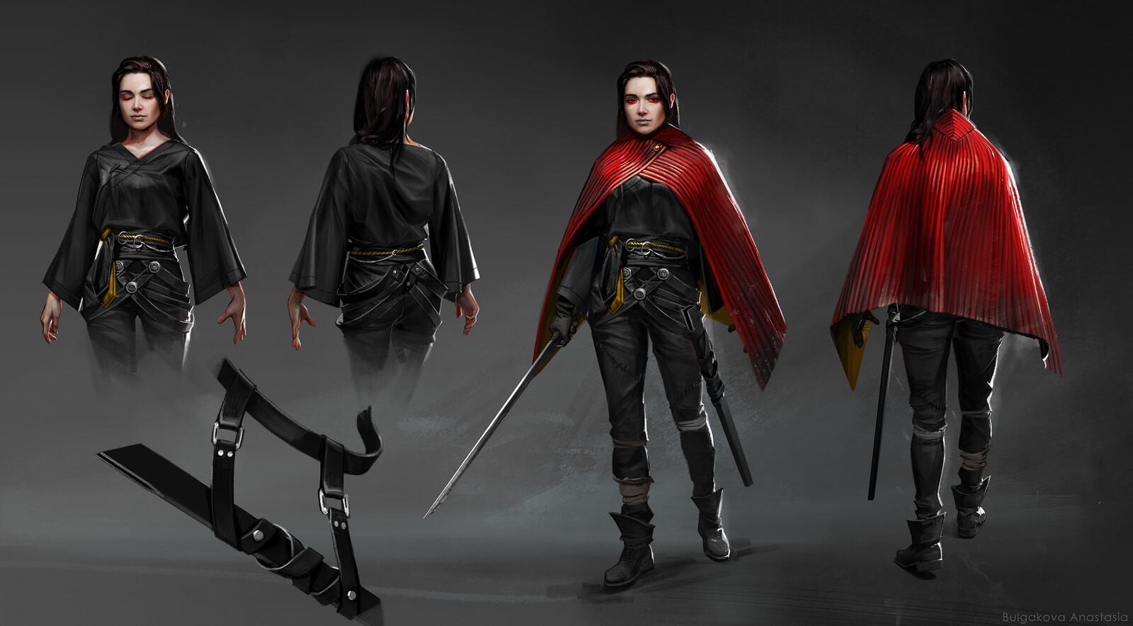 Character design: Saya