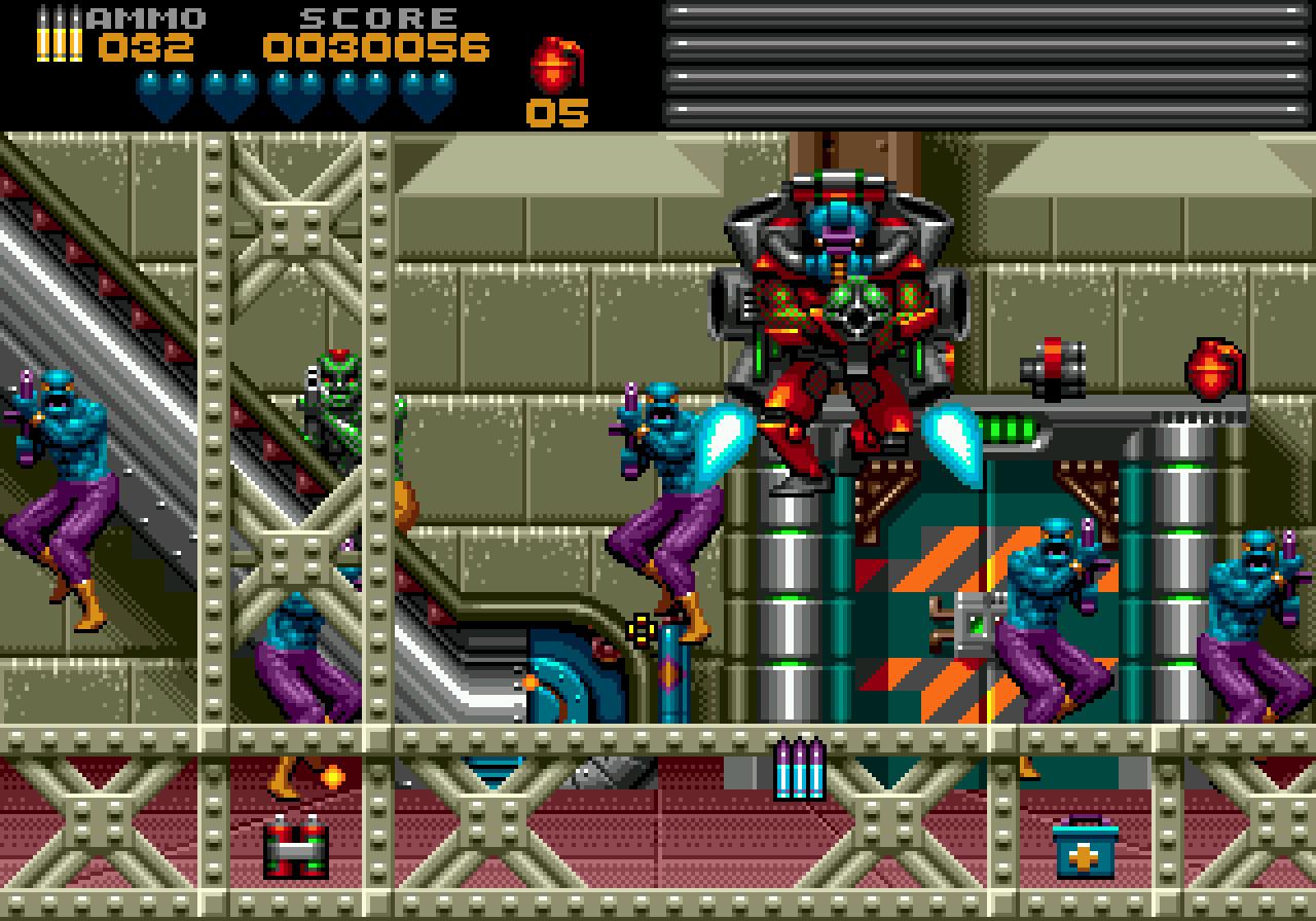 1994 - Body Count SEGA Megadrive / Genesis