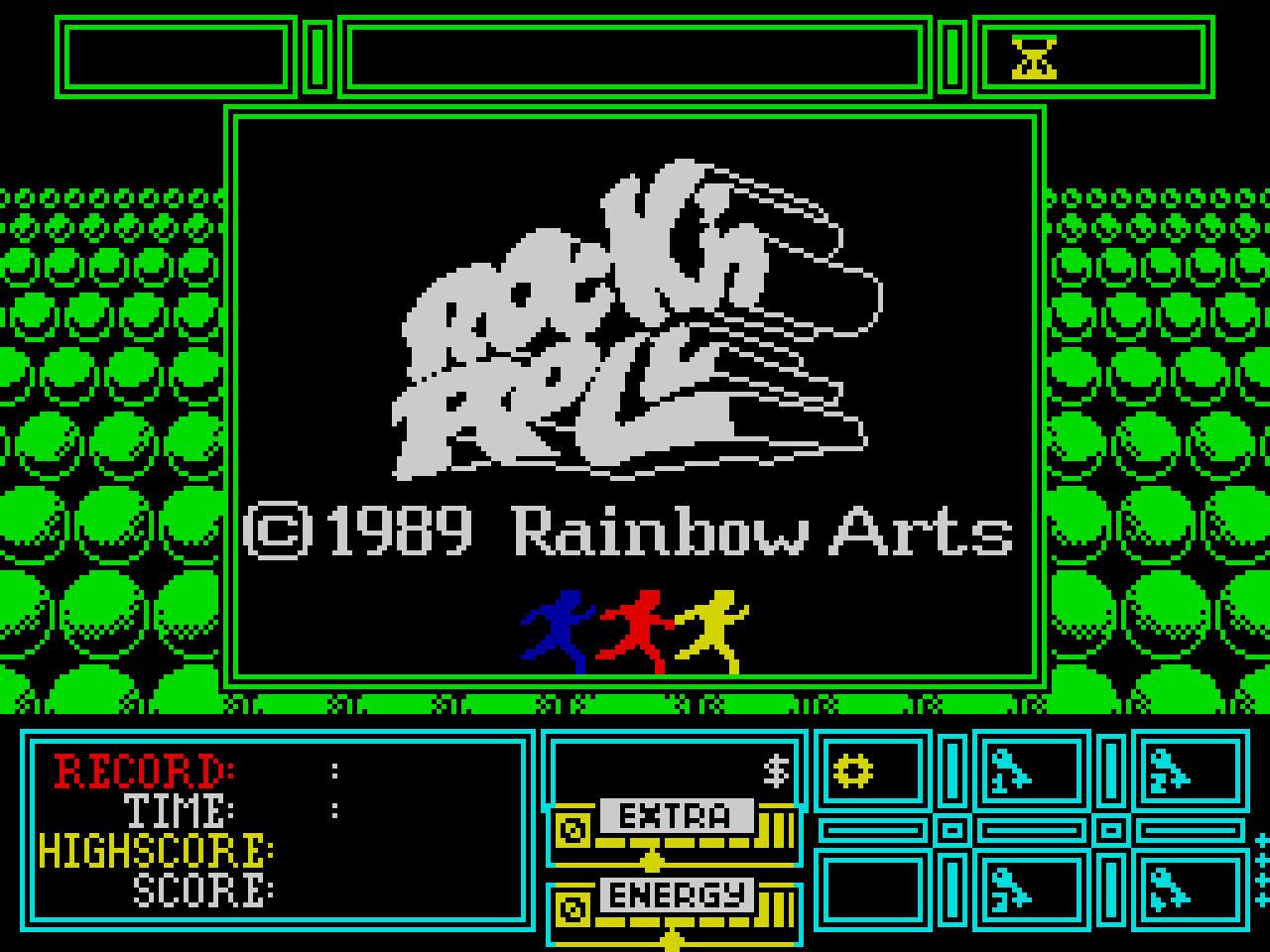 Spectrum Title screen