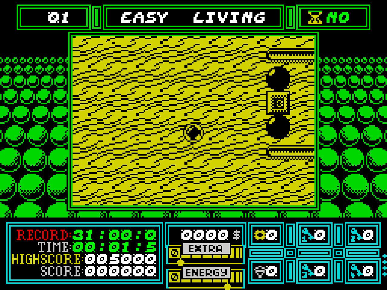 Spectrum in-game