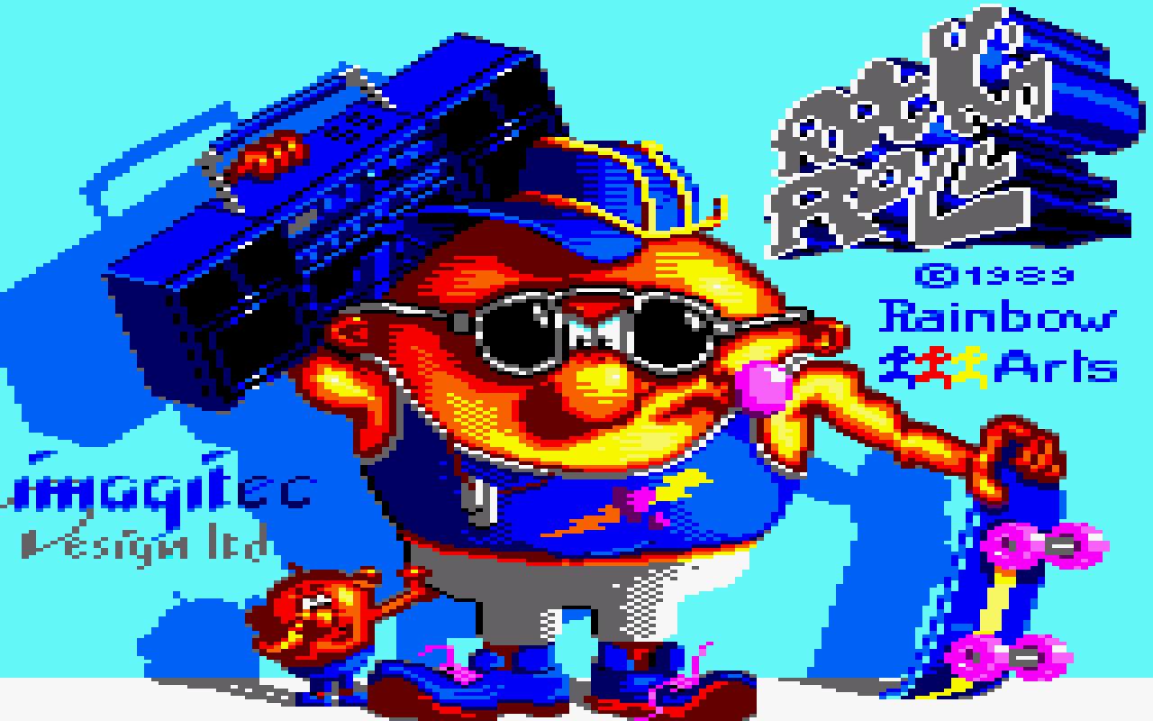 Amstrad-CPC loading screen