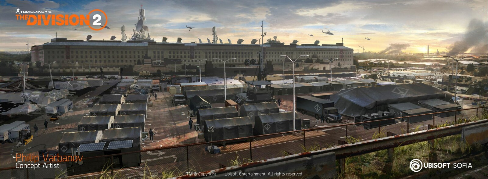 "The Division 2: ""Pentagon: The Last Castle"" DLC"