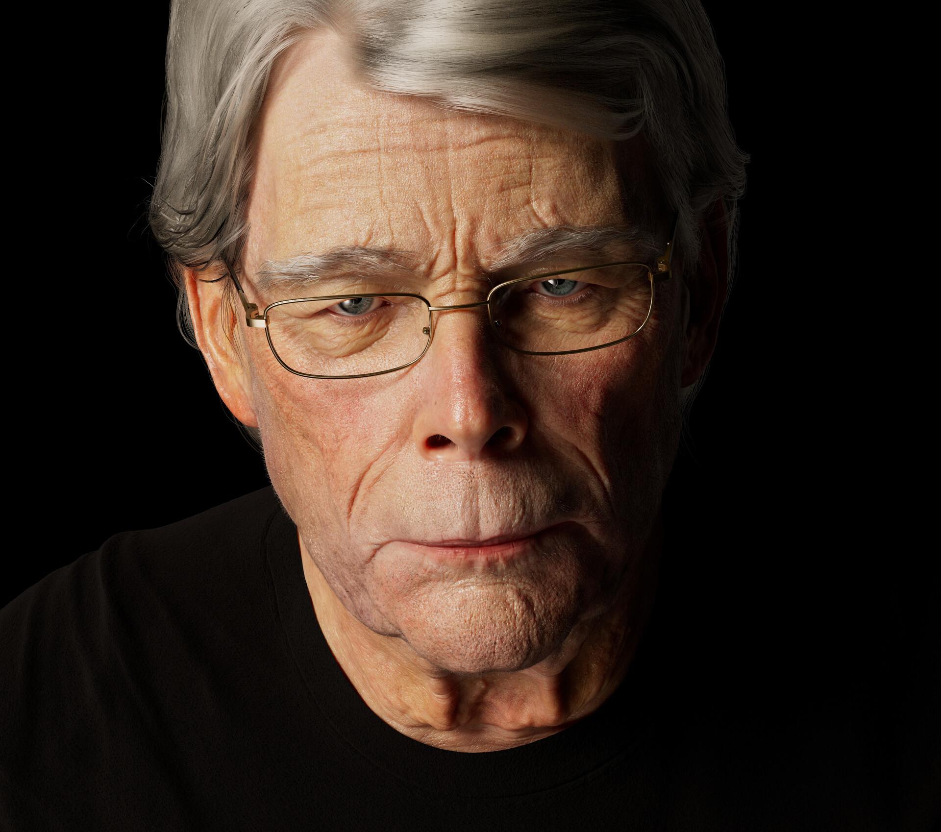 Portrait of Stephen King