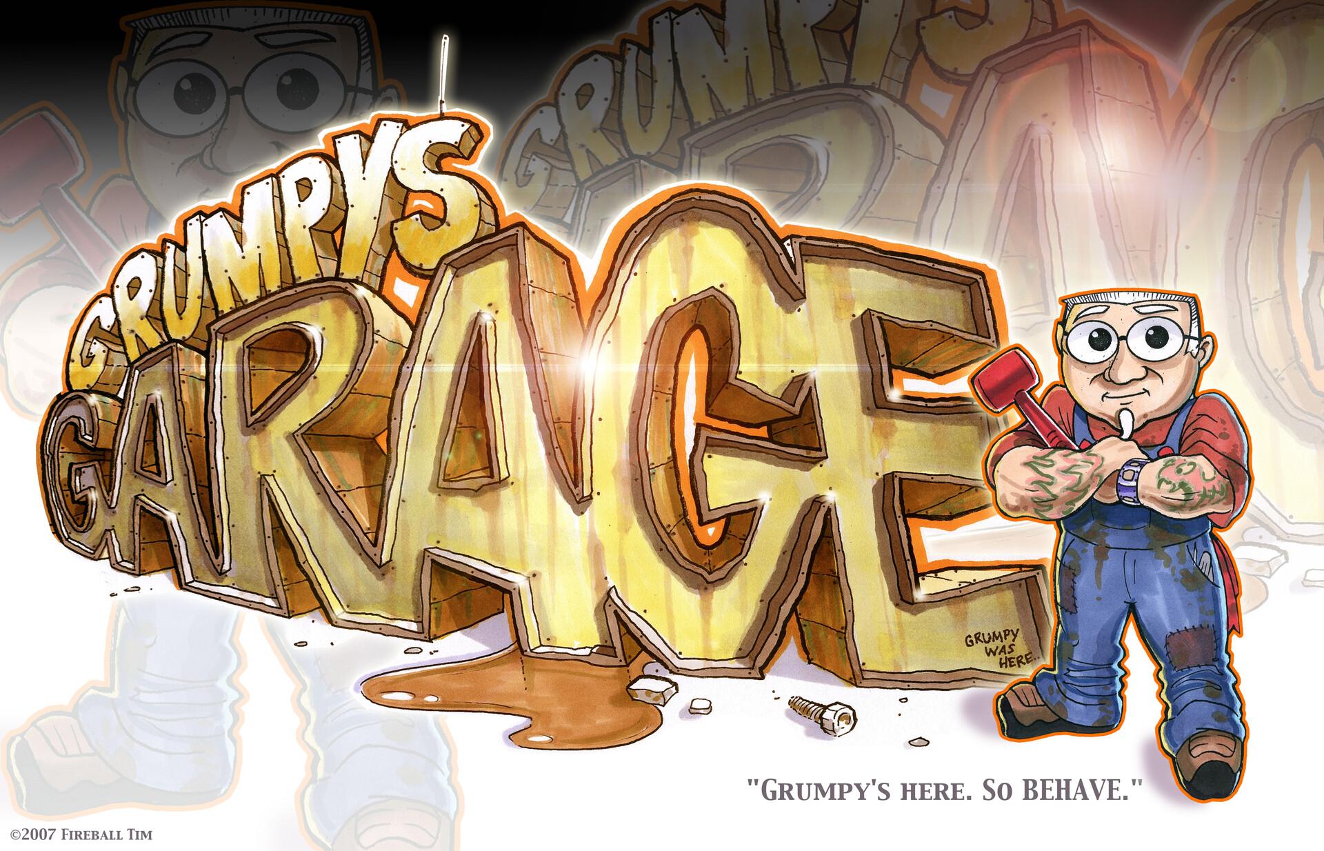 GRUMPY'S GARAGE - TV
