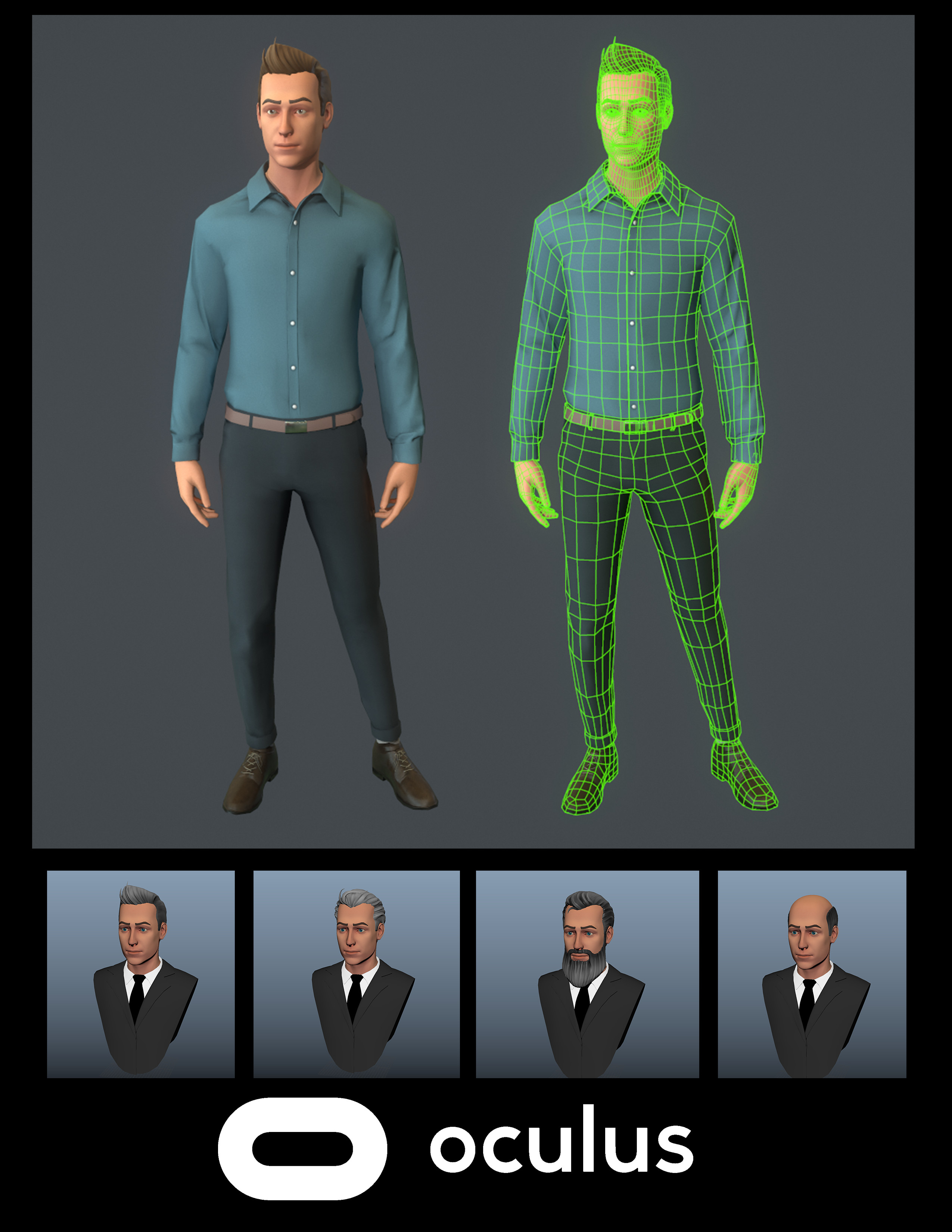Avatars for Oculus Rift and Quest