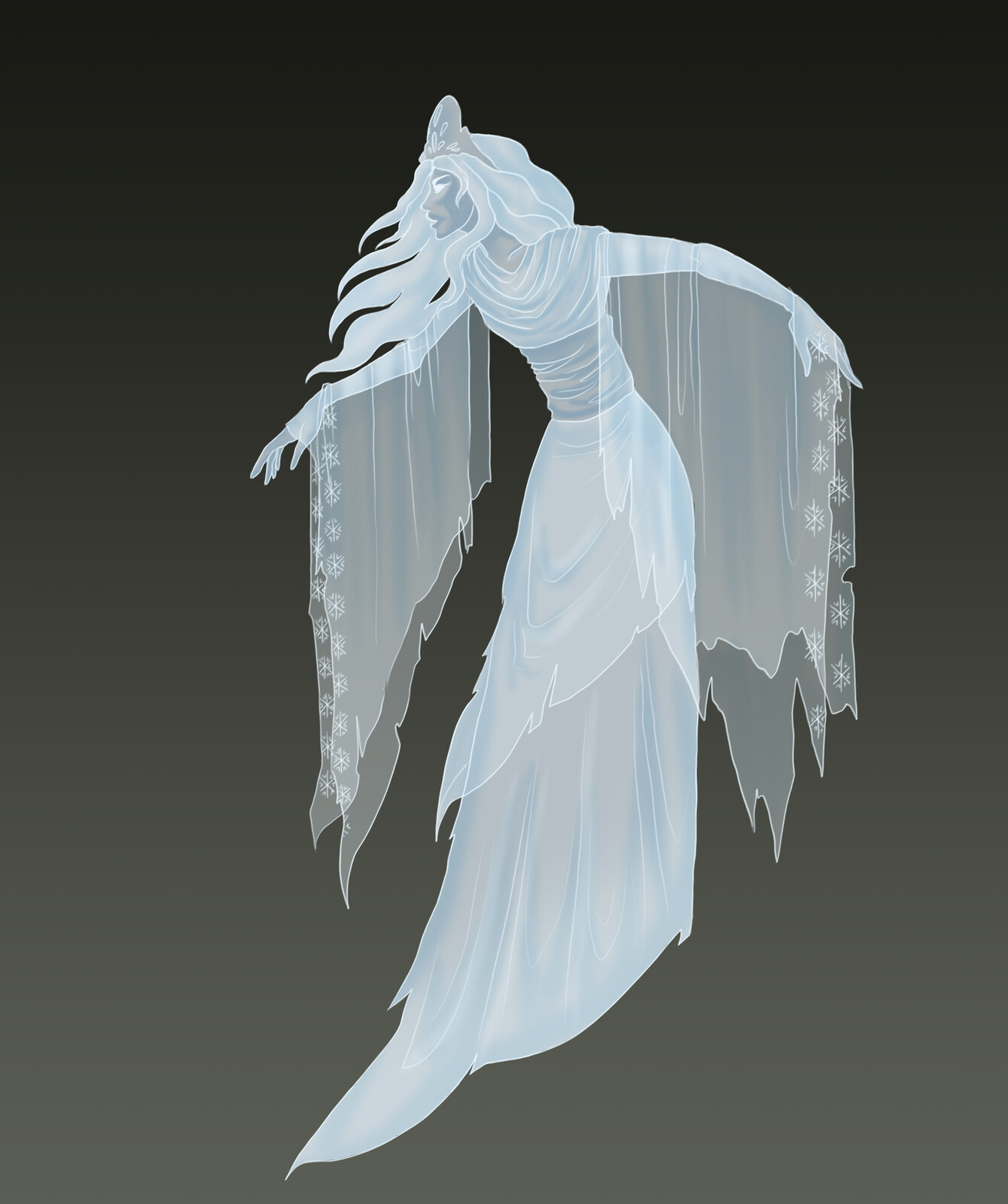 The White Woman, ghostly harbringer of death.