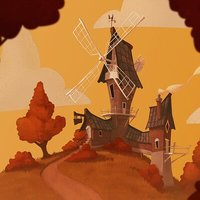 Jake bullock windmill x7 illustration