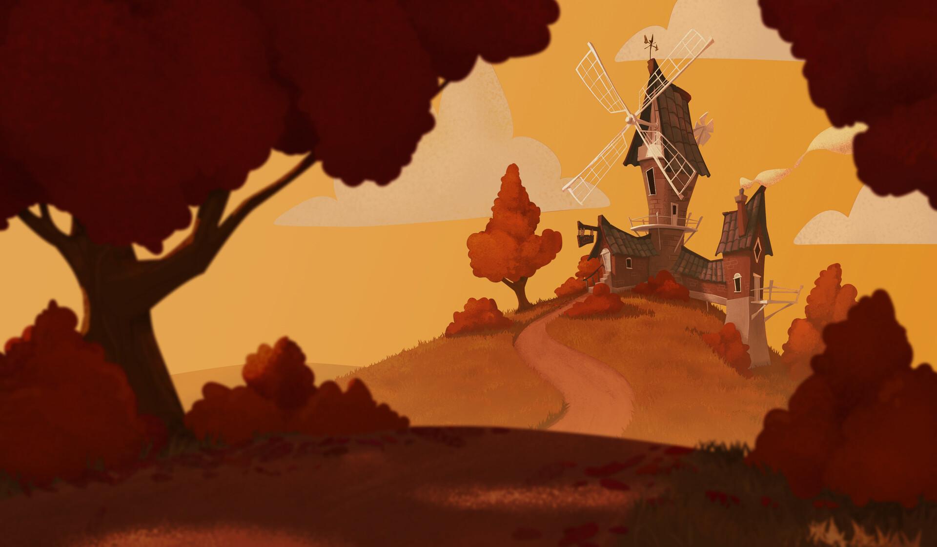 Jake bullock windmill x7 illustration