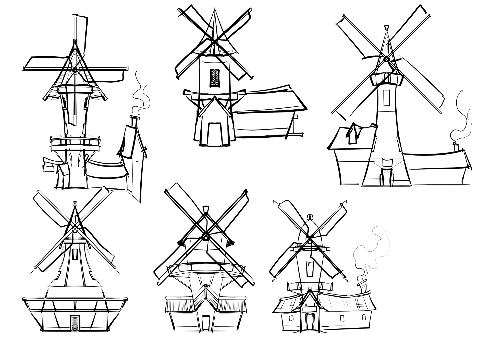 Jake bullock windmill 02 sketches