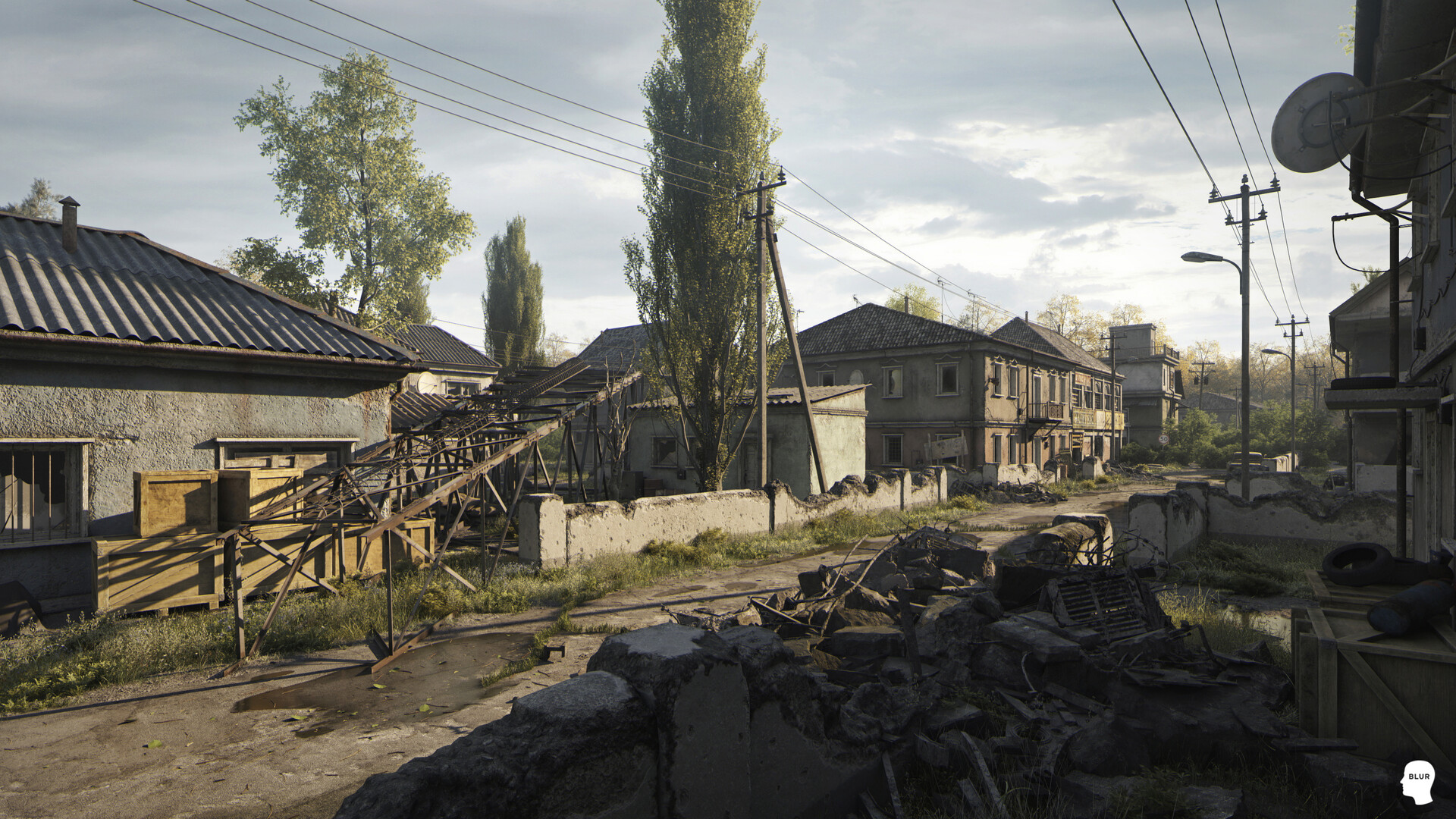 PUBG: Abandoned Street