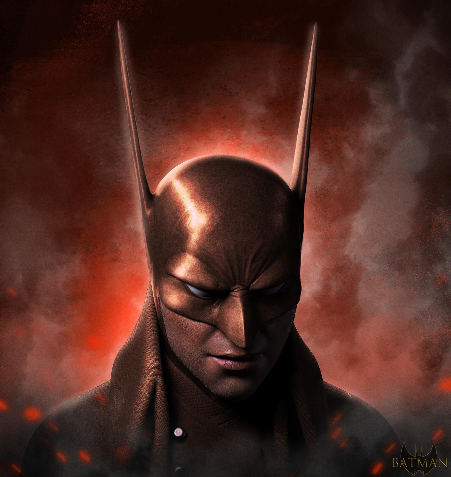 Old Timer Batman Art By @dave Rapoza