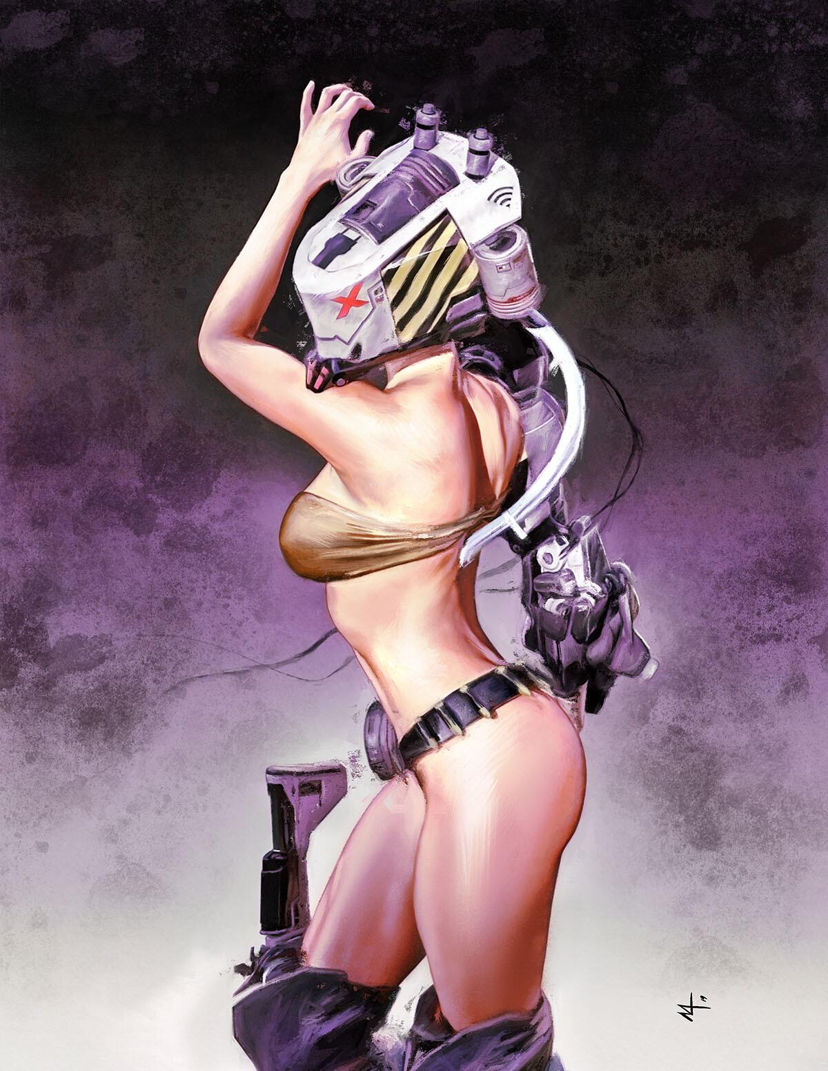 Sci Fi Girl Concept