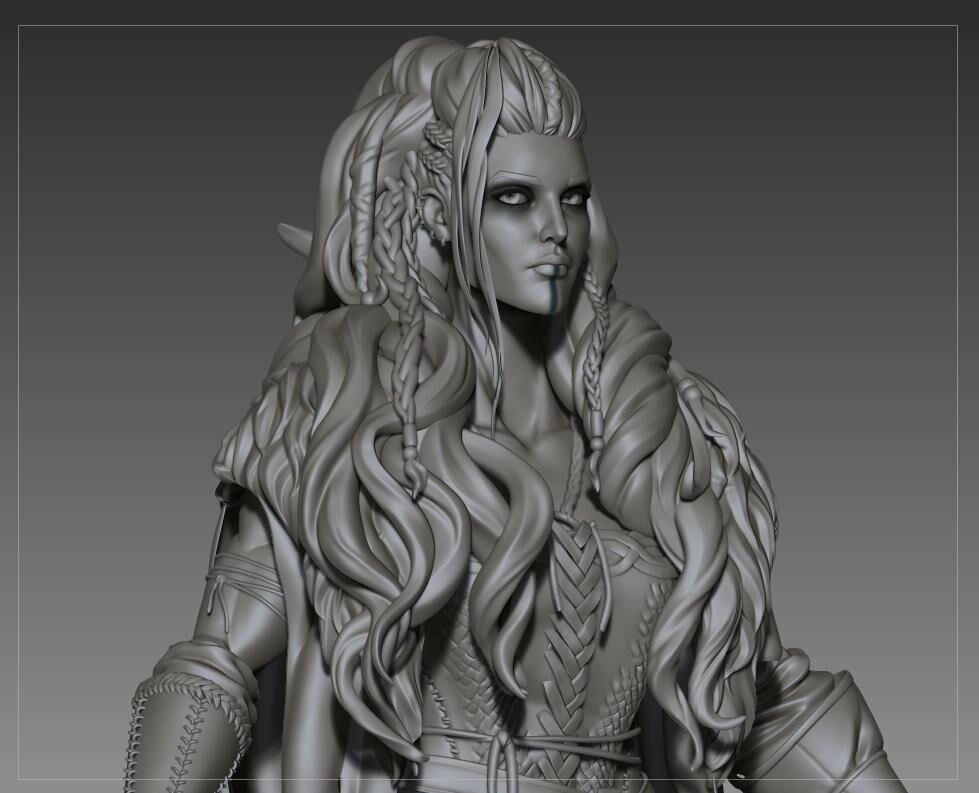 Zbrush capture close up