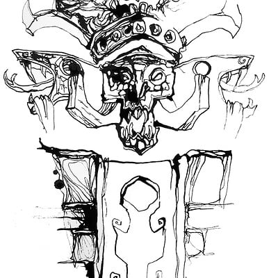 Gabriele crow troll sketch 02