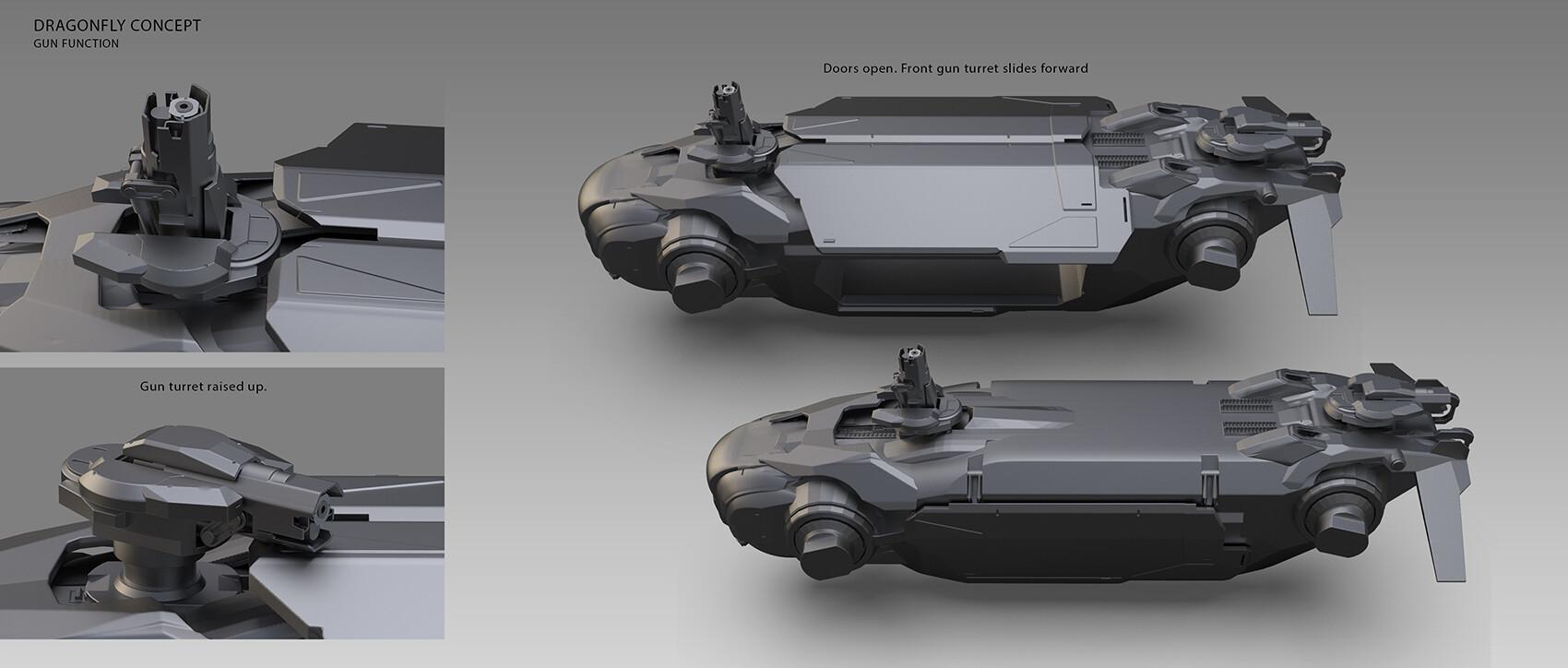 Alex ichim dragonfly concept gun