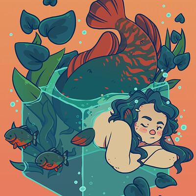 Jess lome fat mermaid boooworth edit smaller