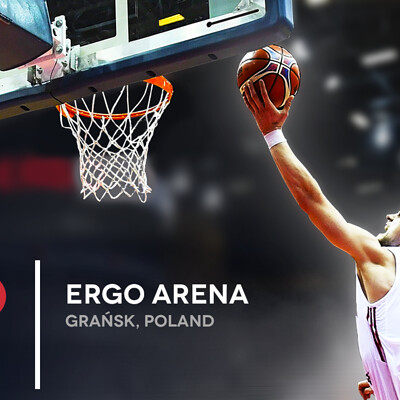 Articly design plakat basketball