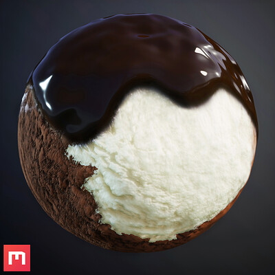 [Quixel Mixer] Icecream Material