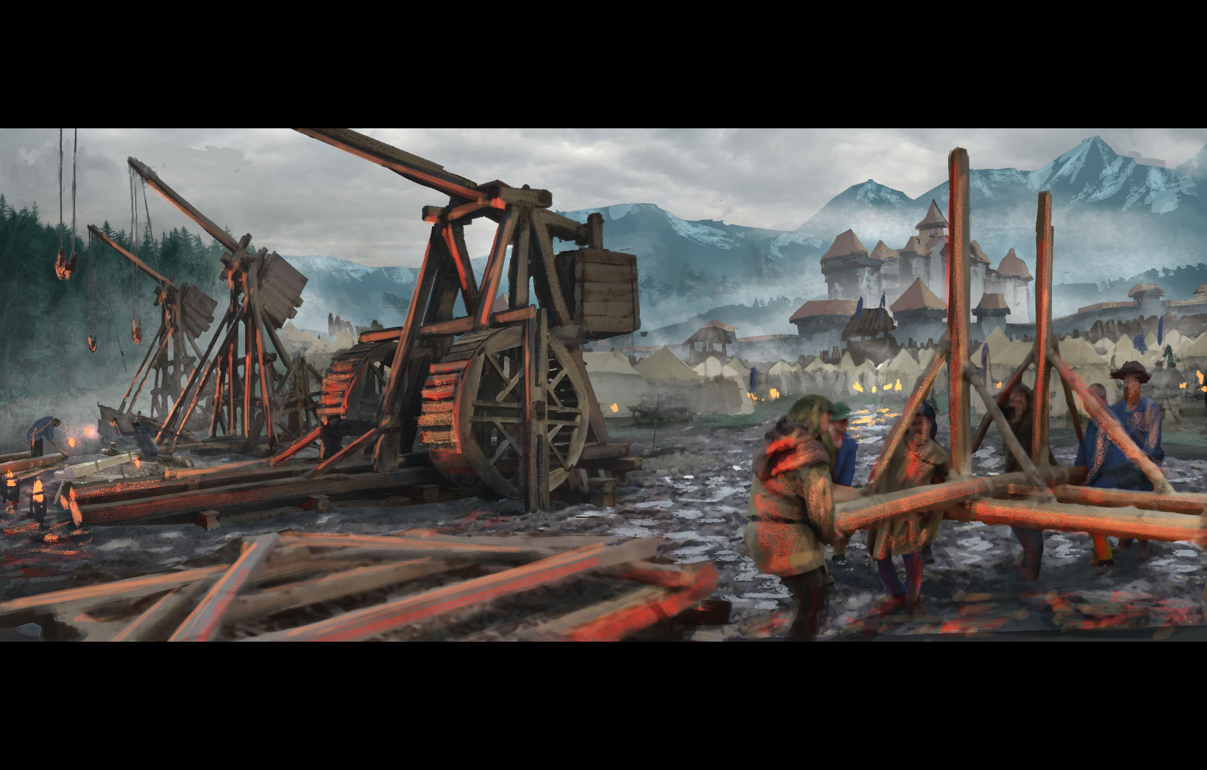Building Siege Weapons 02 (150 min)
