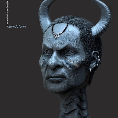 Surajit sen ss chimalsiv02 digital sculpture surajitsen dec2019a