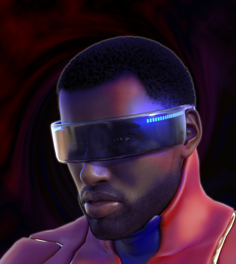 Gabriel Portrait with new visor