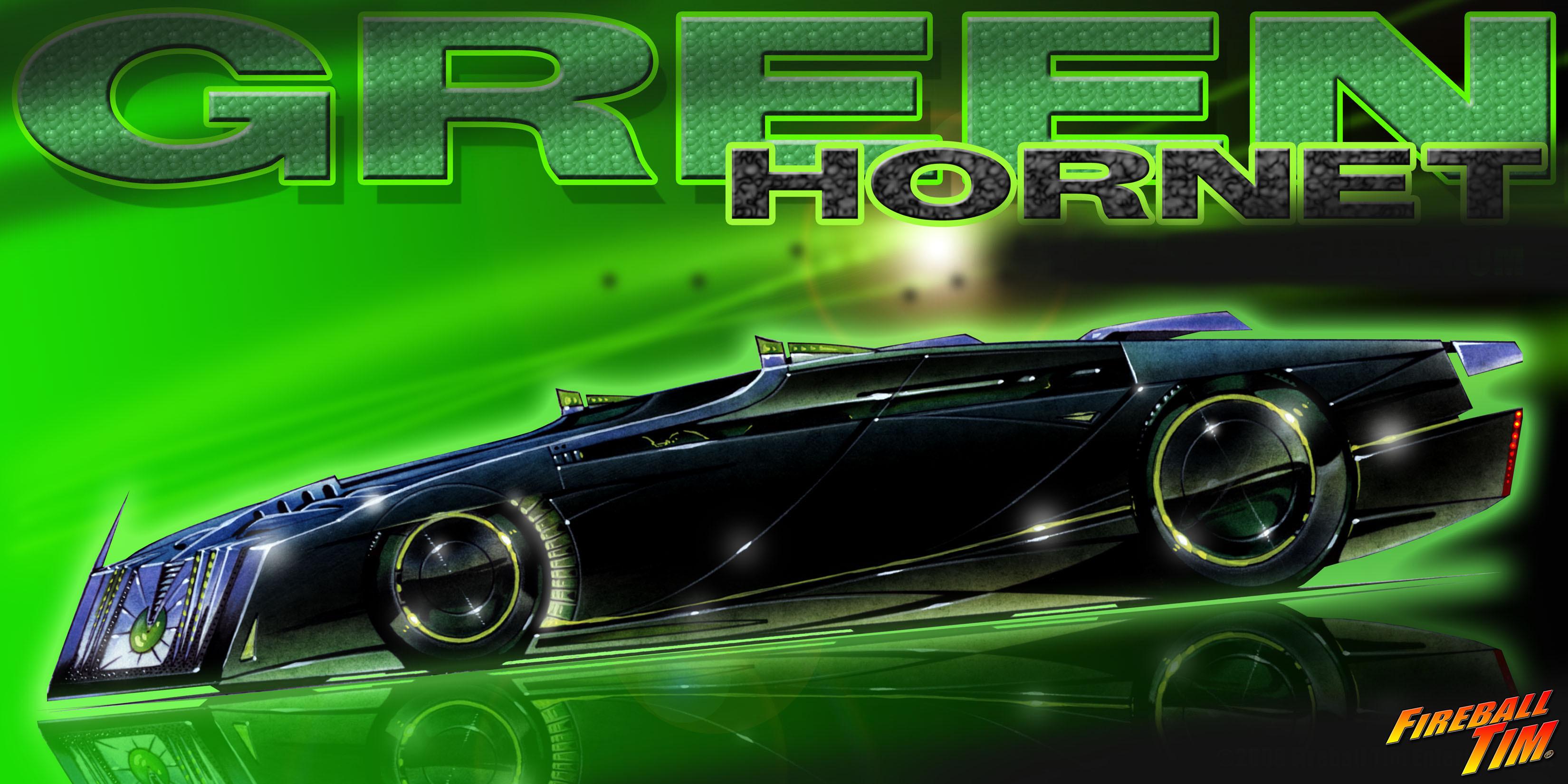 Early GREEN HORNET BLACK BEAUTY CONCEPT