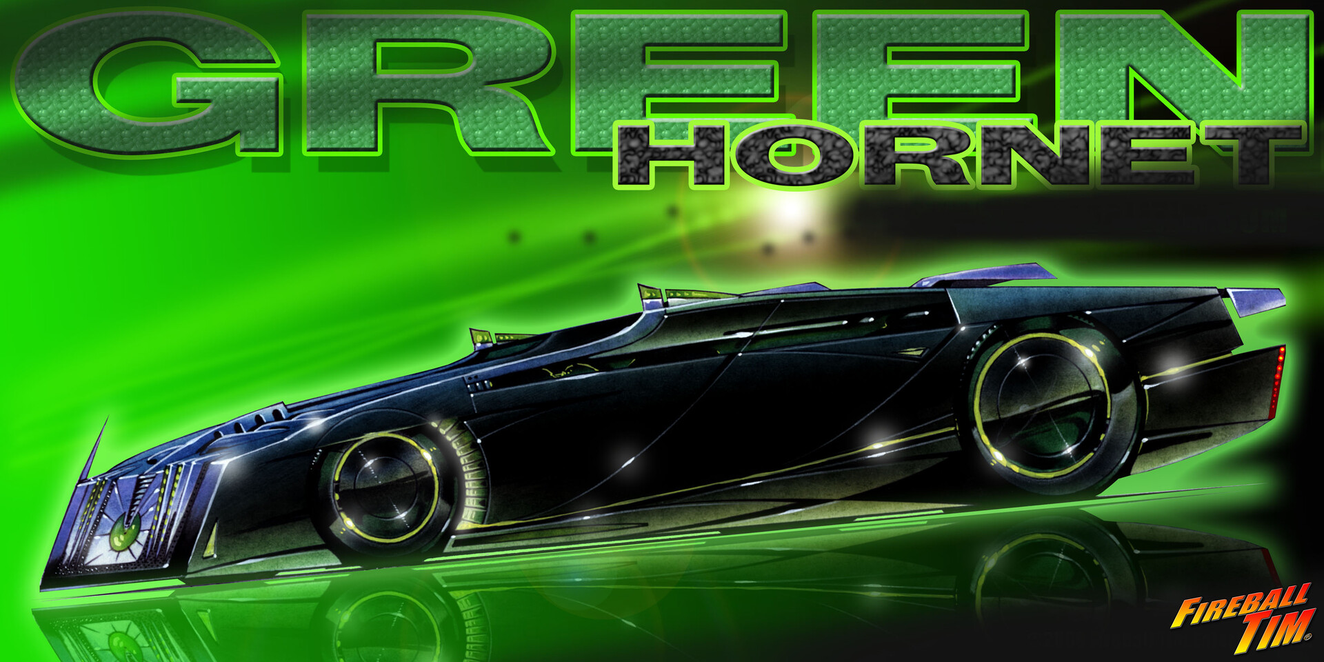 Early GREEN HORNET BLACK BEAUTY CONCEPT