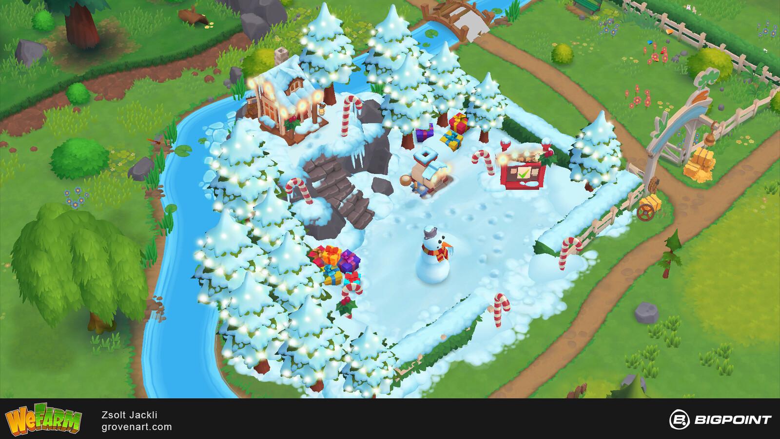 Winter Event Area