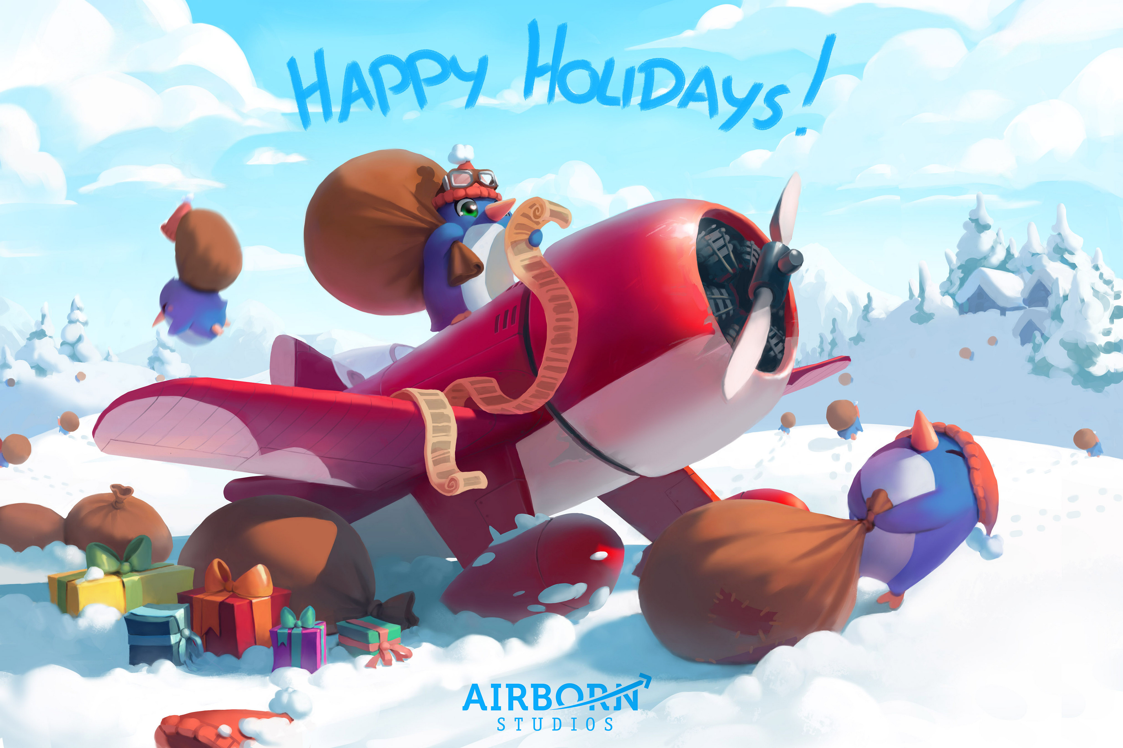 Happy holidays from Airborn Studios!