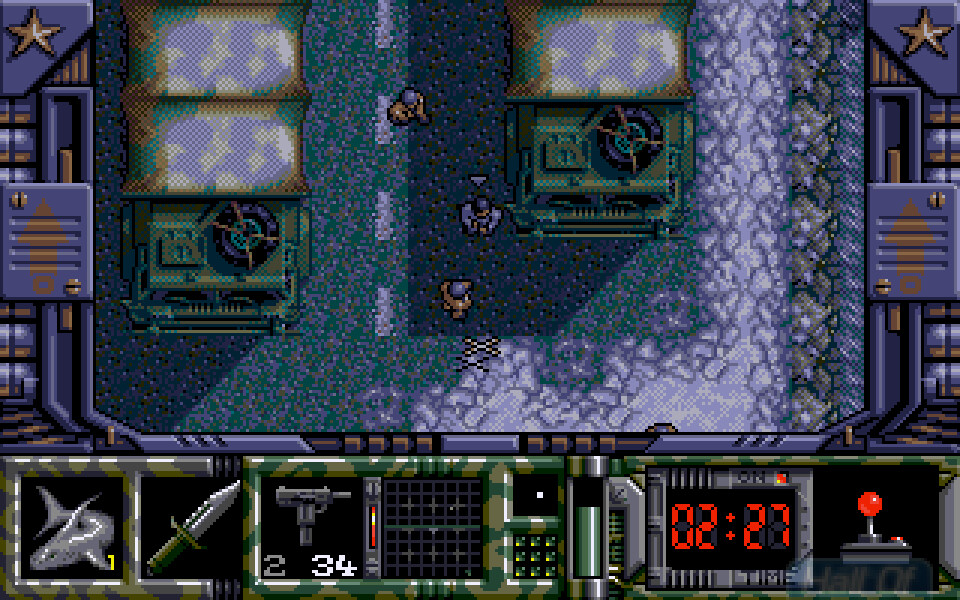 1992 - Special Forces - AtariST / Amiga / PC-DOS