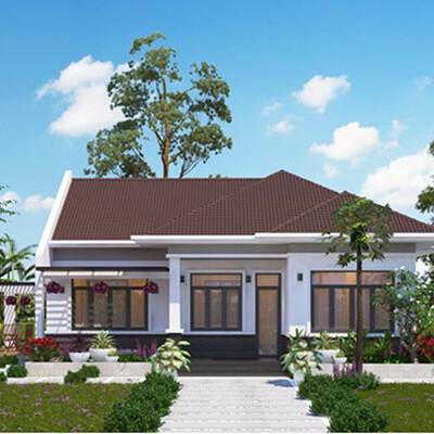 Neohouse architecture thiet ke biet thu nha vuon mai thai co ho boi tai hcm