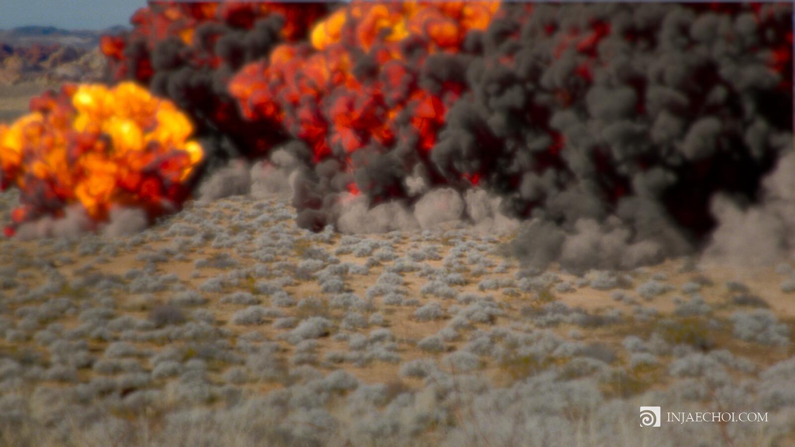 Explosion RND 003